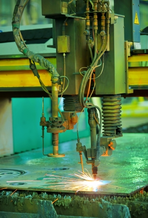 Plasma cutting Stock Photo - 16476150