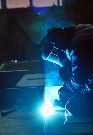 welding with mig-mag method Stock Photo - 16467749