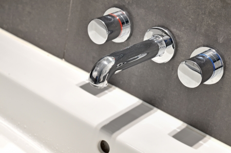 basin: modern designer tap