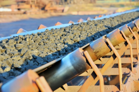 ore conveyor Stock Photo - 16477664