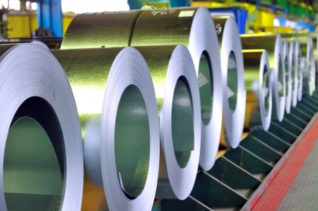 rolls of zinc steel sheet photo