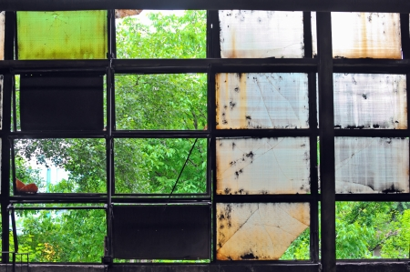 industrial windows Stock Photo - 16480409