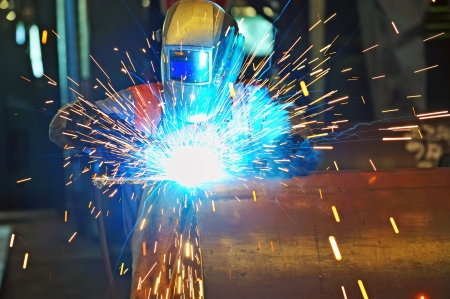 Welder works Stock Photo - 16477958