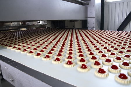 production cookie in factory Stock Photo - 20778111
