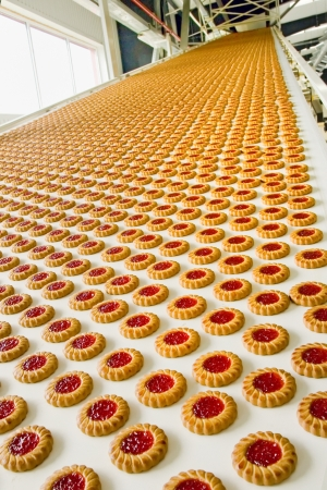production cookie in factory Stock Photo - 16477984
