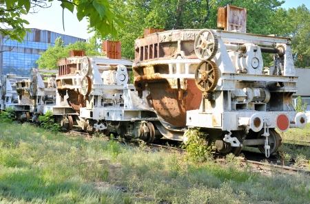 industrial hot steel transportation Stock Photo - 20778115