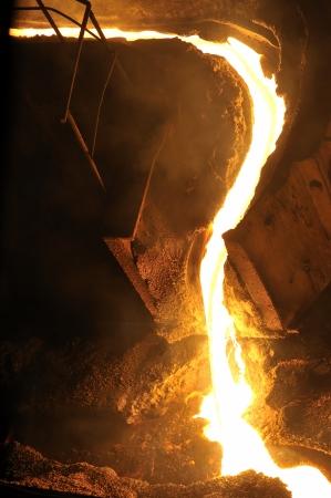 Molten hot steel Stock Photo - 20778124
