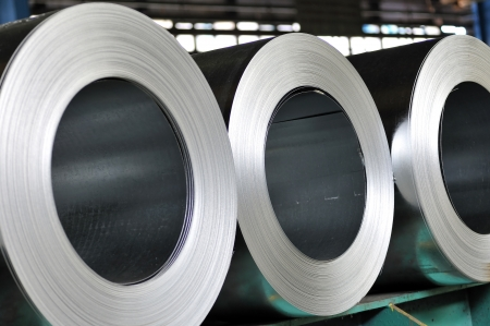 rolls of steel sheet Stock Photo - 20778127