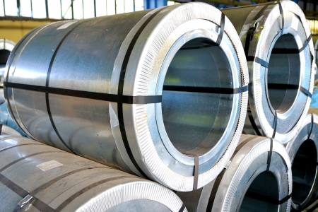 rolls of steel sheet Stock Photo - 20778128