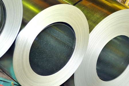 rolls of steel sheet Stock Photo - 16478743