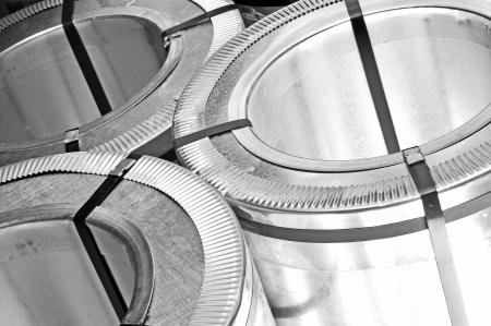 rolls of steel sheet Stock Photo - 16478478
