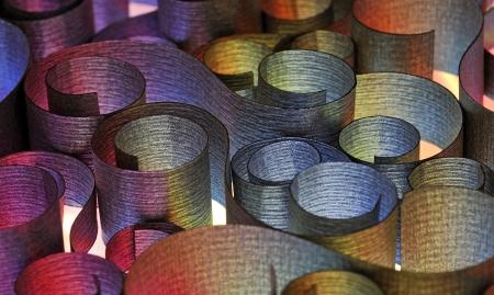 spirale: heißen Stahl Spule