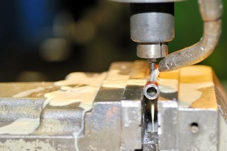 Turning lathe in action Stock Photo - 16474395