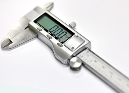 The electronic exact calliper Stock Photo