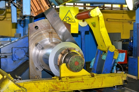 machine for rolling steel sheet Stock Photo - 16480407