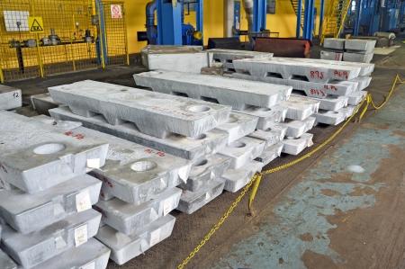 aluminum rod: ingot plumb aluminium