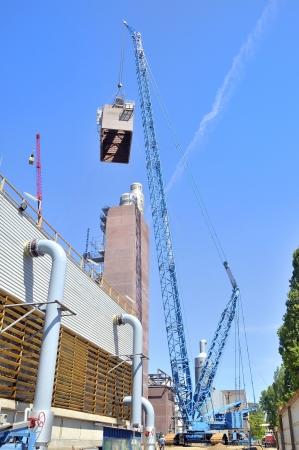 browncoal: giant crane