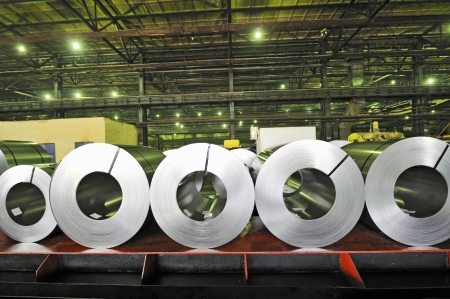 rolls of steel sheet Stock Photo - 16477930