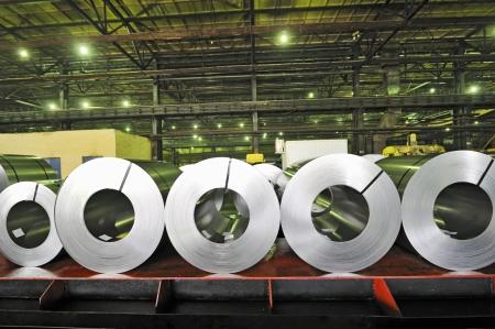 treadplate: rolls of steel sheet