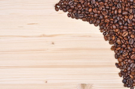 background brown coffee Stock Photo - 16480028