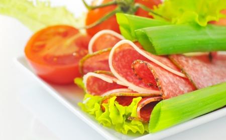 Salami Stock Photo - 16474489