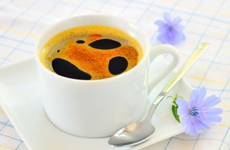 chicory: Chicory hot drink