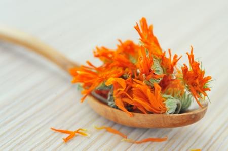 marigold herbal tea Stock Photo - 16474964