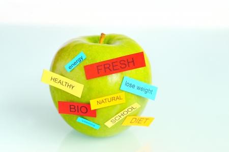 Fresh green apple Stock Photo - 16473833