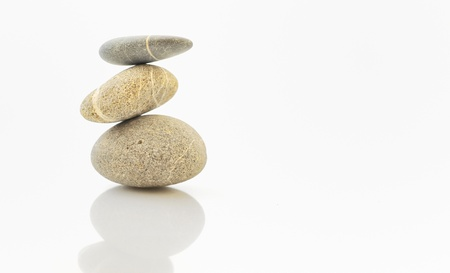background with round peeble stones Stock Photo - 16454774
