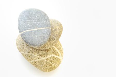 background with round peeble stones Stock Photo - 16474175