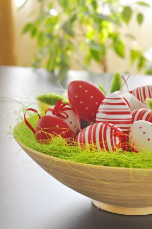Painted Colorful Easter Eggs Stock Photo - 16476339