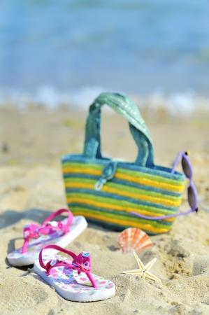 Children s beach accessories Stock Photo - 20777755