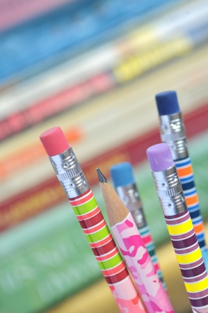 closeup of colored pencils Stock Photo - 16475614