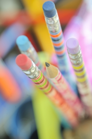 closeup of  colored pencils  Stock Photo - 16475002