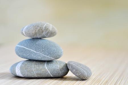 zen stones: Pill of rocks