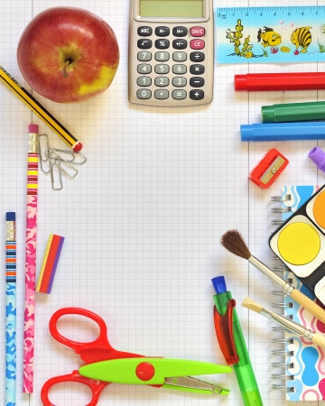 school things Stock Photo - 16474739