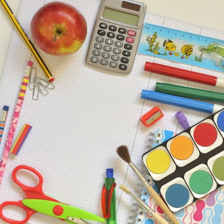 school things Stock Photo - 16475221