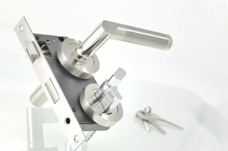 lock and key: door lock parts