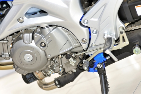 motorcycle engine close-up Stock Photo - 16476973