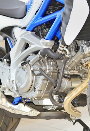 motorcycle engine close-up Stock Photo - 16474738