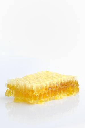 Honeycomb isolated on white background Stock Photo - 16474081