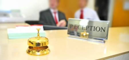 Hotel reception Stock Photo - 16473730