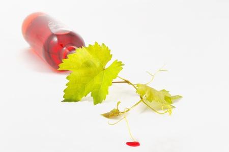 harvest wine isolated on white Stock Photo - 16474122