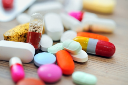 droga: Surtido de pastillas