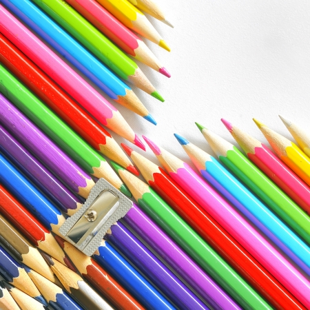 abstract color pencils Stock Photo - 16477407