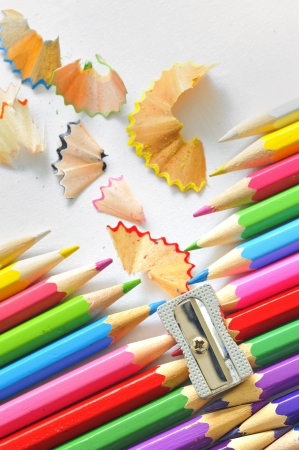 abstract Color pencils Stock Photo - 16477982