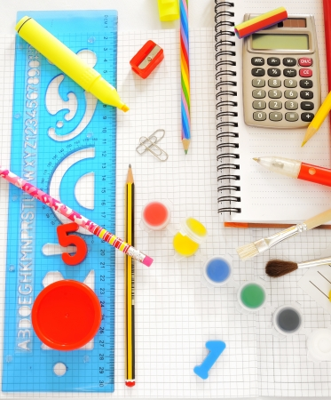 school things Stock Photo - 16476295