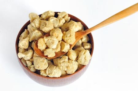 chunk: Soy Protein Stock Photo