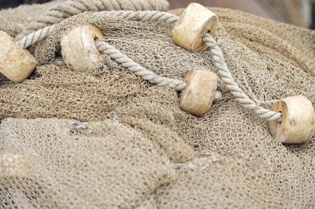 redes de pesca: Redes de pesca closeup