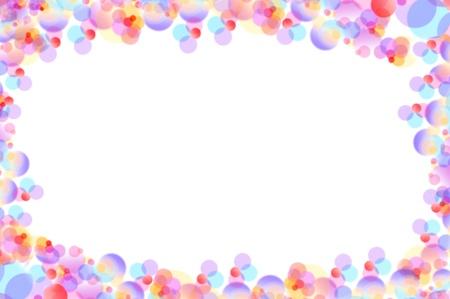 pink bubbles: bubble mix background Stock Photo